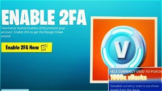 Here's How To Redeem 1000 vBucks Reward In Fortnite! (2FA Rewards)