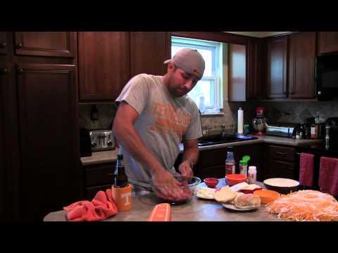 Home Cookin Hunter – A1 Bacon Buck Burger (Venison Deer Burger)