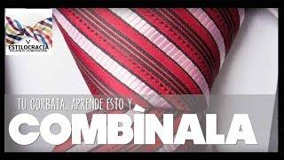Cómo escoger la corbata conforme a los colores de camisa y traje. thumbnail