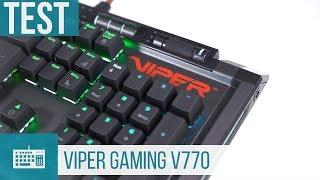 Patriot Viper Gaming V770 - Vielseitige Gaming-Tastatur im Test