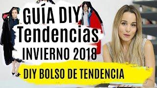 GUIA DIY TENDENCIAS 2018   Bolso DIY sin coser