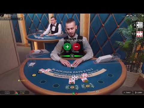$600 против Лайв БлэкДжек с дилером на ПокерСтарс!Live BlackJack With Dealer On PokerStars