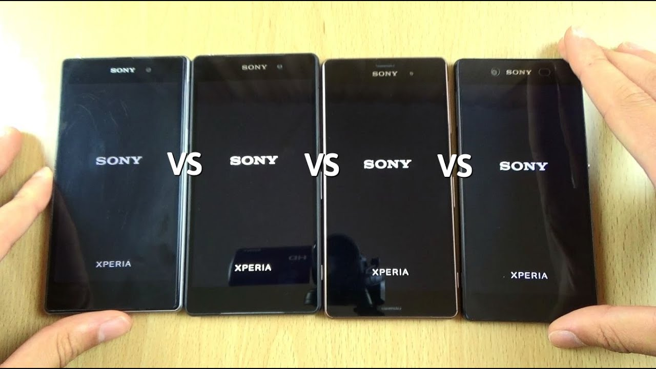 Sony Xperia Z3 Plus VS Z3 VS Z2 VS Z1 - Speed Test - YouTube Xperia Z3 Compact Comparison
