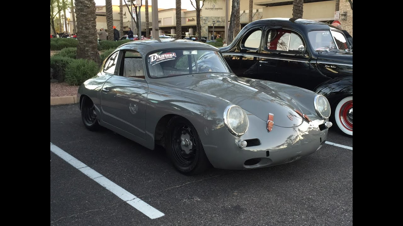 Classic Porsche 356 Super 90 At Cars Amp Coffee Scottsdale