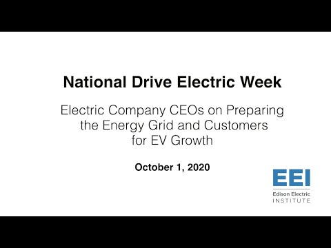 Electric Company CEOs On Preparing The Energy Grid & Customers For EV Growth
