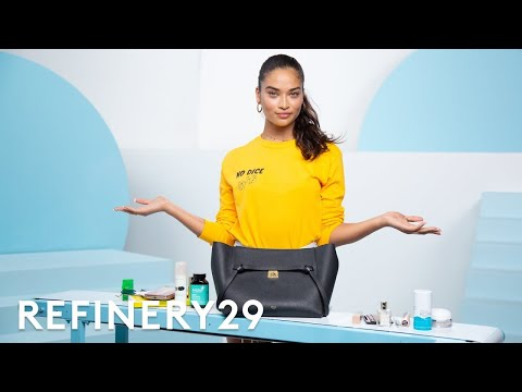 What's In This Victoria Secret Model's Bag | Spill It | Refinery29