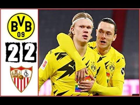 Borussia Dortmund Vs Sevilla 2 2 Extended Highlights \u0026 All Goals 2021 HD