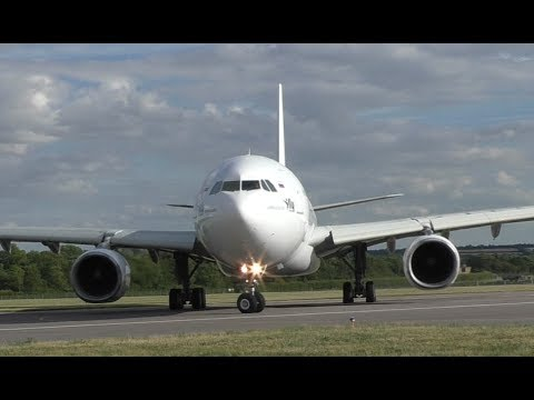 INSANE CLOSE I-Fly A330 Departure at Cambridge Airport
