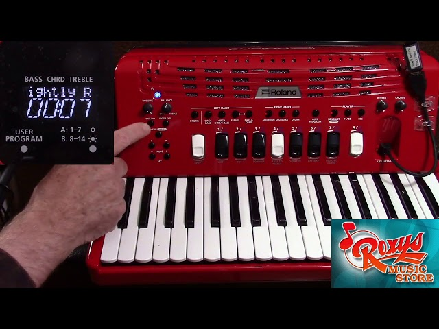 FR-4x Playing With Backing Tracks