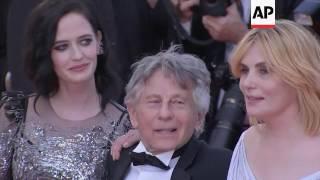 Eva Green joins Roman Polanski, Emmanuelle Seigner for cannes premiere of 'Based on a True Story'