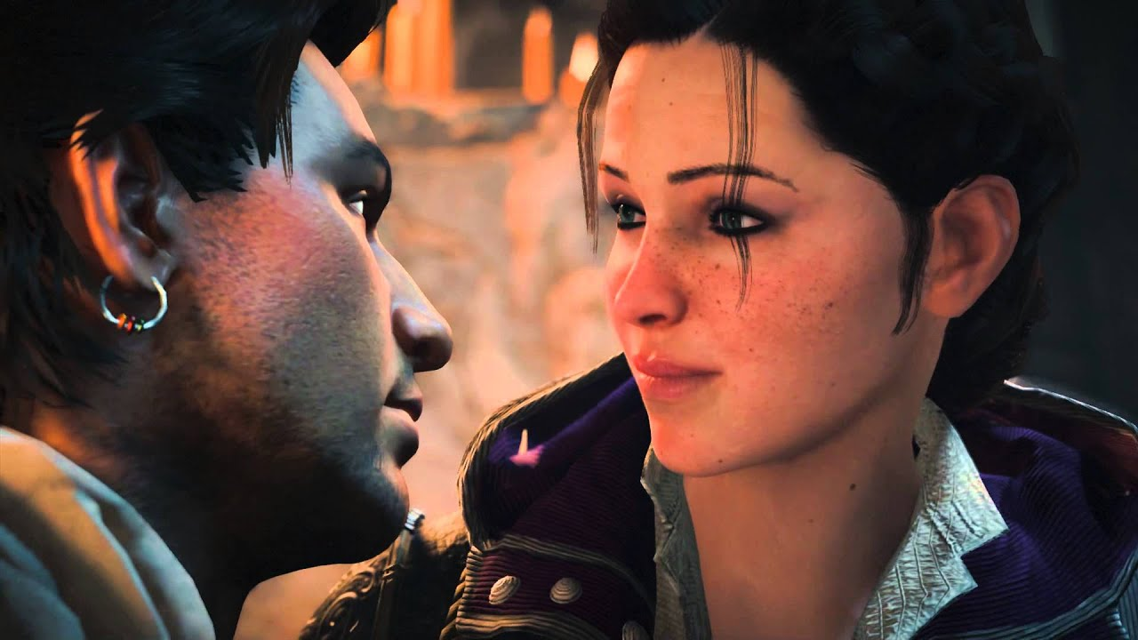 A picture of Henry Green and Evie Frye from Assassin's Creed Syndicate.