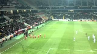 Kayseri Erciyesspor 1-3 Galatasaray Tribün Çekimi Gol Burak Yılmaz