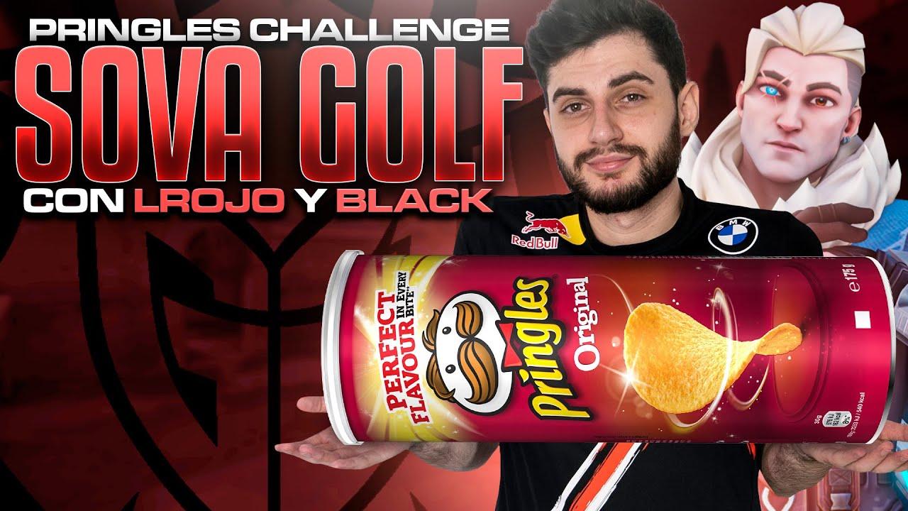 HAGO EL PRINGLES CHALLENGE SOVA GOLF CON LUCAS ROJO Y BLACK | G2 Mixwell