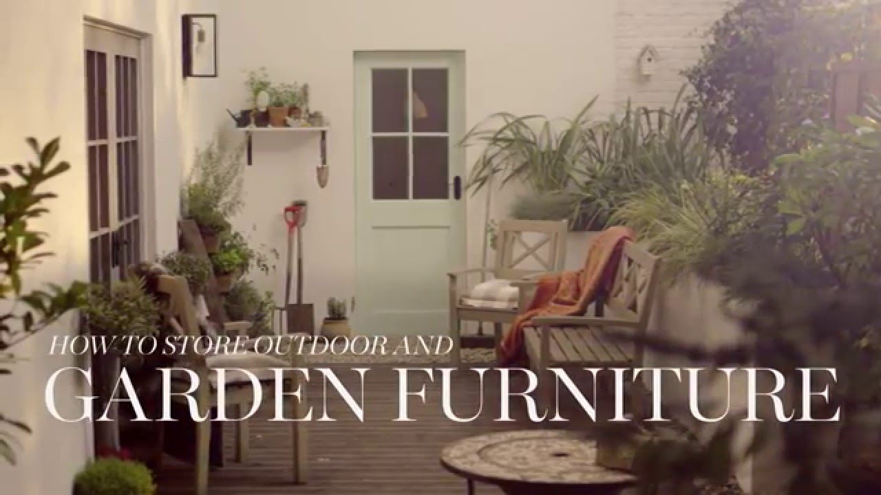 M S Home How To Store Outdoor Garden Furniture