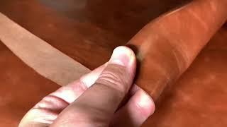 Vídeo: Vacuno color cuero acabado brillo 1,0-1,2mm