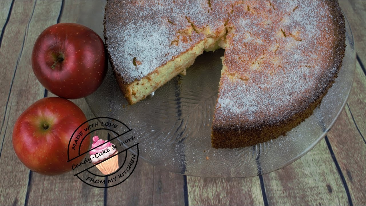 Apfelkuchen Mit Quark Ohne Mehl Super Saftig I Apfeltorte Youtube