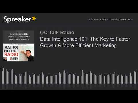 Data Intelligence 101: The Key to Faster Growth & More Efficient Marketing
