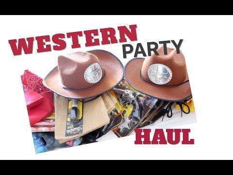 COWBOY/WESTERN THEME PARTY HAUL | TwinMomPlus1