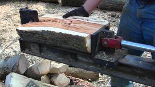 Tractor powered hydraulic log splitter
