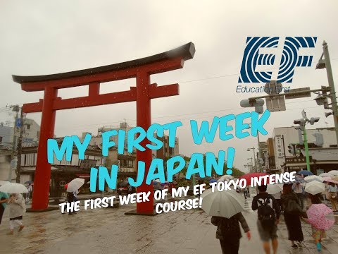 My First Week In Japan! | Intense EF Tokyo Course