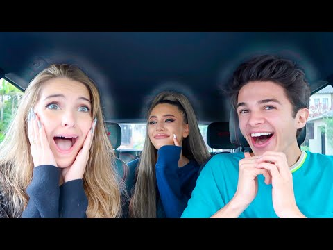 Maxwell - YouTuber Brent Rivera Pranks Friends with Ariana Grande Look-Alike