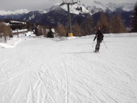 Ravascletto - zoncolan hungarian boy skiing