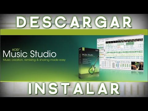 DESCARGAR   INSTALAR SONY ACID Pro MUSIC STUDIO 9 0