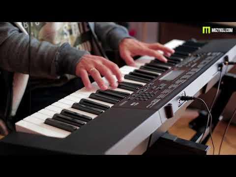 Casio CTK 3500 sounds: brzmienia