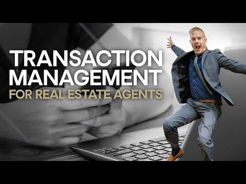 Transaction Management for Real Estate (UTILIZING IT TO CLOSE MORE DEALS)