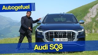 Can this challenge a Porsche Cayenne? new Audi SQ8 REVIEW - Autogefuel