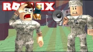 I JOIN THE ROBLOX EXERCISE I'M THE GERMAN SOLDIER playgerman