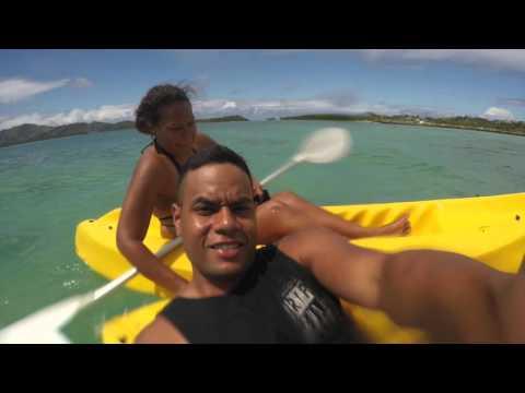 Fiji trip with Emily