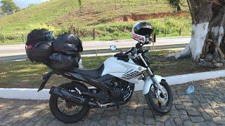 VIAGEM DE MOTO PARA BAHIA DE FAZER 250