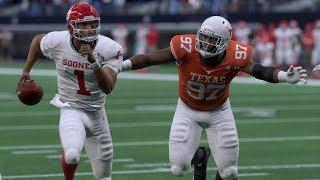 Madden 20 Gameplay Oklahoma Sooners vs Texas Longhorns (NCAA Football Mod Lite) Madden NFL 20 PS4