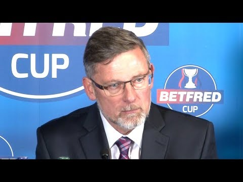 Hearts 0-3 Celtic - Craig Levein Full Post Match Press Conference - Scottish League Cup Semi-Final