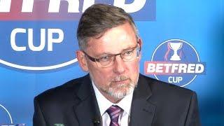 Hearts 0-3 Celtic - Craig Levein Full Post Match Press Conference - Scottish League Cup Semi-Final