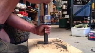 How To Remove And Reinstall An Axle From A Landcruiser CV Birfield Joint