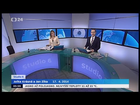 Czech TV News, 4/17/2014, Jan Zika