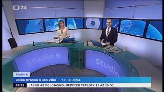 Czech TV News | 4/17/2014 | Yann Zane