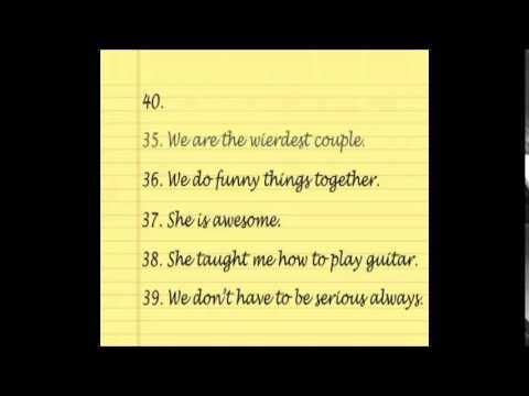 Reasons i love my girlfriend