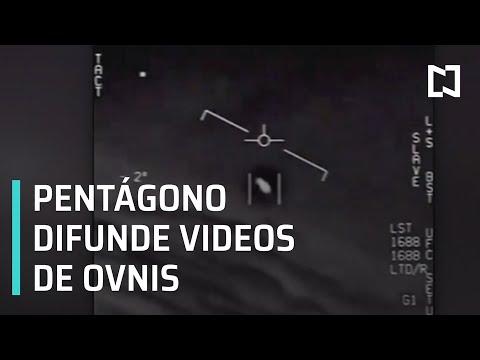 Pentágono difunde videos de ovnis - Las Noticias con Claudio