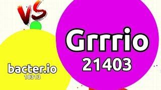 Gambar cover Agar.io - Bacterio vs Grrrio 1v1 Match