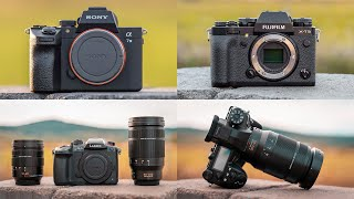 Best Cameras and Lenses on THS 2018 [ Sony A7III   Fuji XT3   GH5S   G9 ]