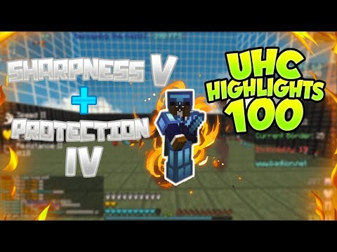 UHC Highlights #100 - Most intense game I've ever had