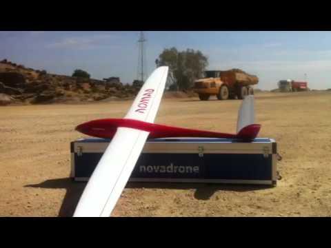 Drone ala fija para agricultura de precisión, entre otras cosas