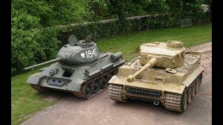 T34 vs TIGER ЛУЧШИЙ ТАНК ВОЙНЫ (документальный фильм) Взгляд Европы