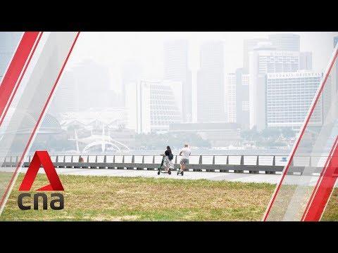 Haze In Singapore Hits
