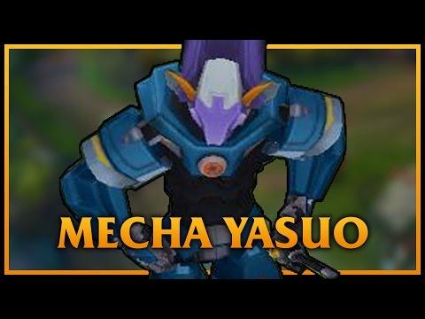 Mecha Yasuo LoL