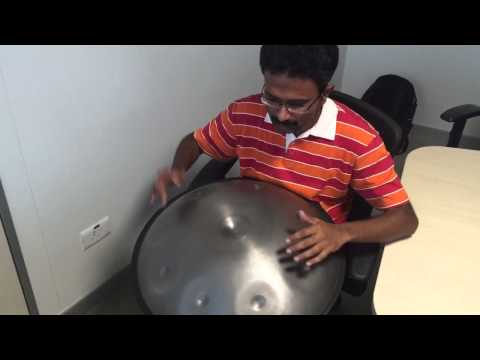 Airtel Theme Music on Handpan  Halo