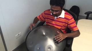 Airtel Theme Music on Handpan / Halo
